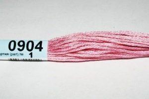 Мулине Гамма розовый 0904