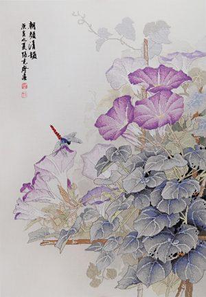 Набор для вышивки крестом Xiu crafts «Утреннее цветение» 2030828