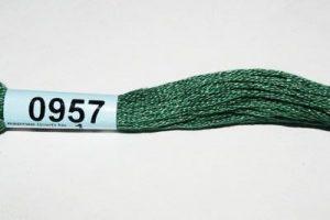 Мулине Гамма серо-зеленый 0957