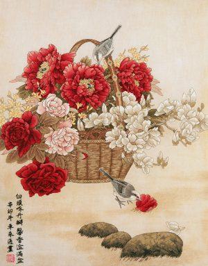Набор для вышивки крестом Xiu crafts «Сезон цветения» 2031001