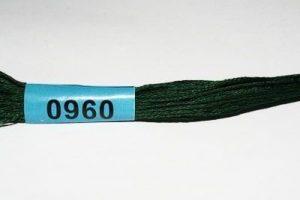 Мулине Гамма темно-зеленый 0960