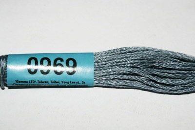 Мулине Гамма серый 0969