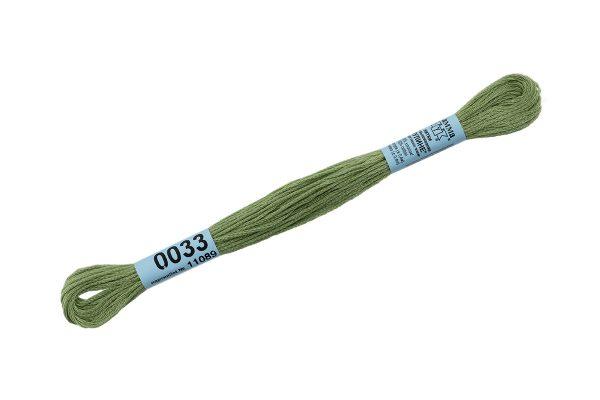 Мулине Гамма св.зеленый 0033