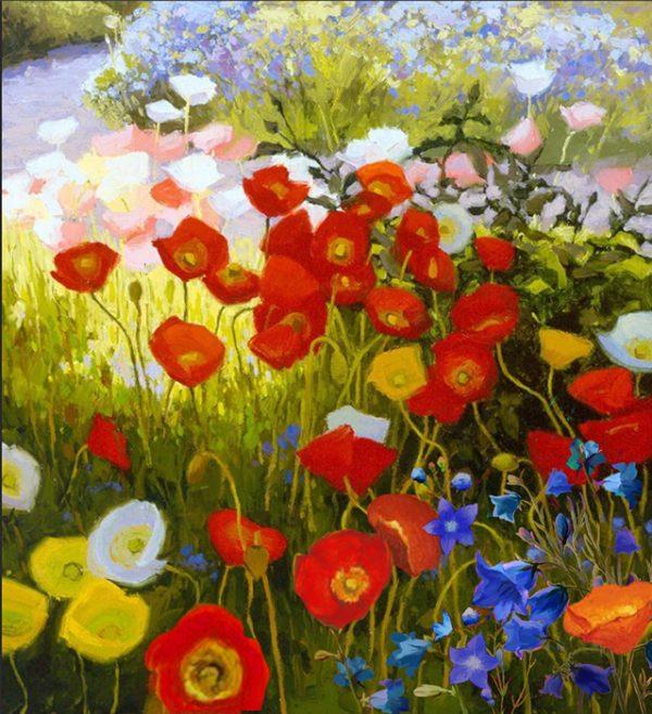 Алмазная мозаика РТО «Цветочный ковер» DE7109
