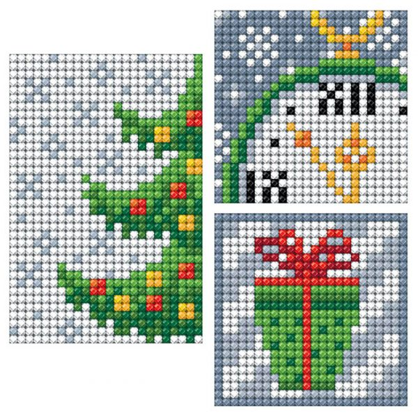 Алмазная мозаика РТО «Новый год» DCS012