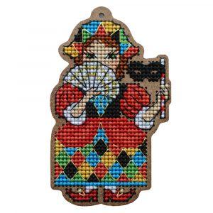 Наборы для вышивания крестом Дивная Вишня «Коломбина» ВВ-98