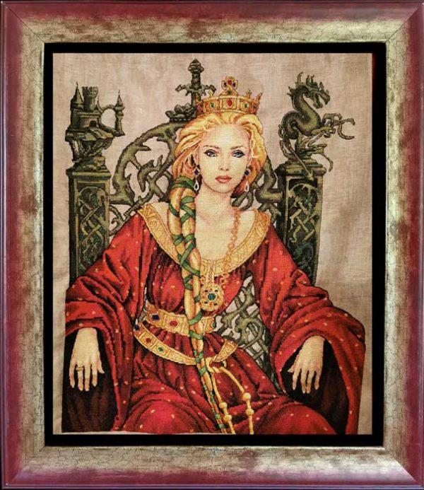 Наборы для вышивания крестом NIMUE «Королева Гвиневра» 173-Z007 MK