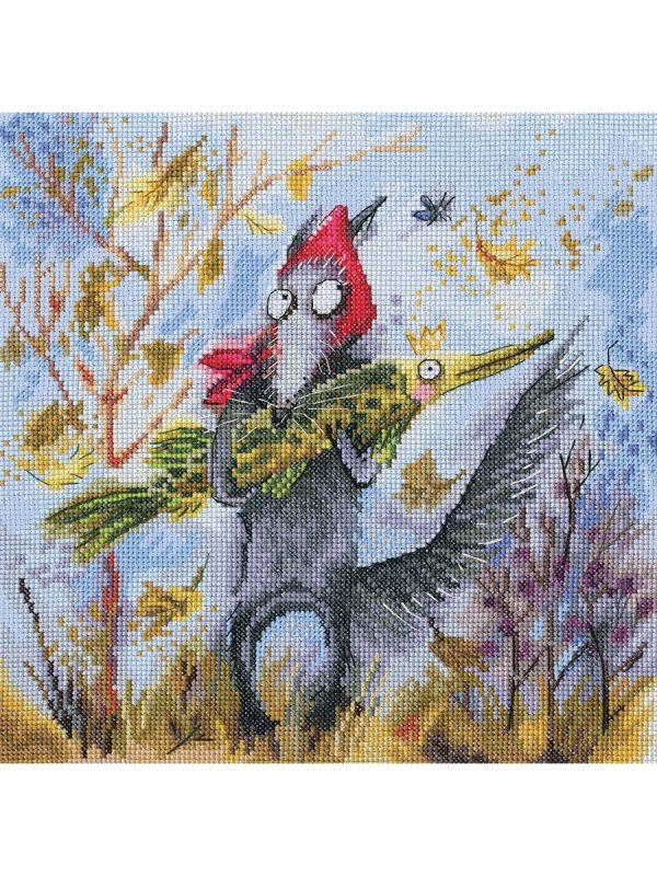 Купить наборы для вышивания крестом РТО «Золотая рыбка» M832