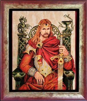 Наборы для вышивания крестом NIMUE «Король Артур» 174-Z008 K
