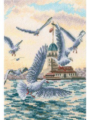 Наборы для вышивания крестом РТО «Со вкусом соли, ветра и солнца» M851