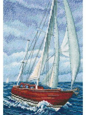 Наборы для вышивания крестом РТО «Со вкусом соли, ветра и солнца» M849