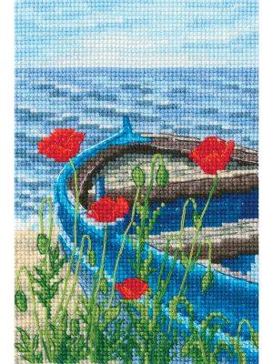 Наборы для вышивания крестом РТО «Со вкусом соли, ветра и солнца» C337
