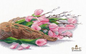 Купить набор для вышивания крестом Овен «Философия весны» № 1409