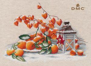 Купить набор для вышивания крестом Овен «Накануне Рождества» № 1417