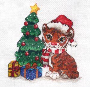 Купить набор для вышивания крестом Овен «Новогодние чудеса» № 1418