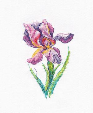 Купить набор для вышивания крестом Овен «Радужный цветок» № 1425