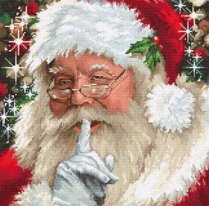 Купить набор для вышивания крестом LUCA-S «Santa» B2398