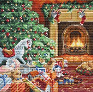Купить набор для вышивания крестом Letistitch «Cozy Christmas» L8009