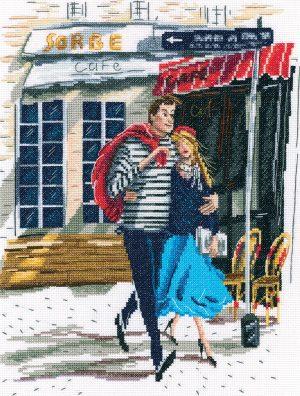 Купить набор для вышивания крестом РТО «Любовь» M858
