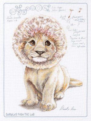 Купить набор для вышивания крестом РТО «DaNDY-lion» M70040
