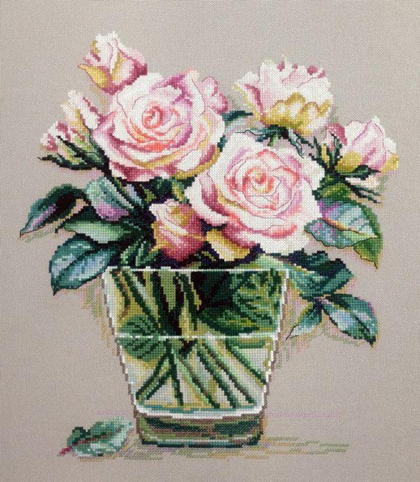 Купить набор для вышивания крестом Марья Искусница «Аромат роз» 04.005.20