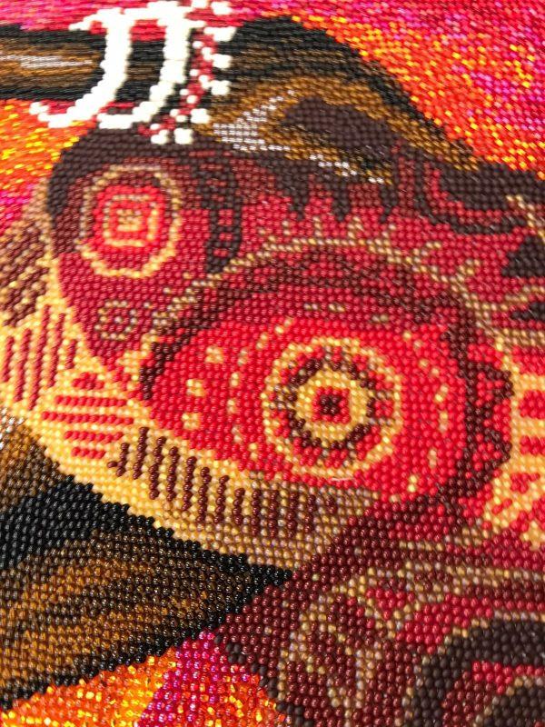 Купить набор для вышивания бисером Золотые ручки «Африканка» Э-002