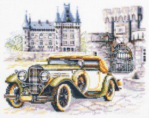 Купить набор для вышивания крестом Чудесная Игла «Ретро стиль. Классика» 110-024