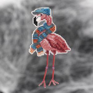Купить набор для вышивания бисером MILL HILL «Осенний фламинго» MH182123