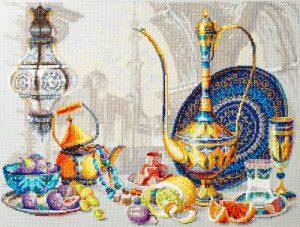 Купить набор для вышивания крестом Чудесная Игла «Яркие краски Марокко» 120-301