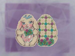 Купить набор для вышивания бисером MILL HILL «Кролик» JS181812