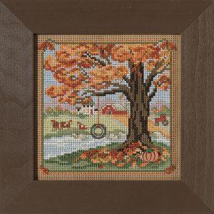 Купить набор для вышивания бисером MILL HILL «Осенние качели» MH142126