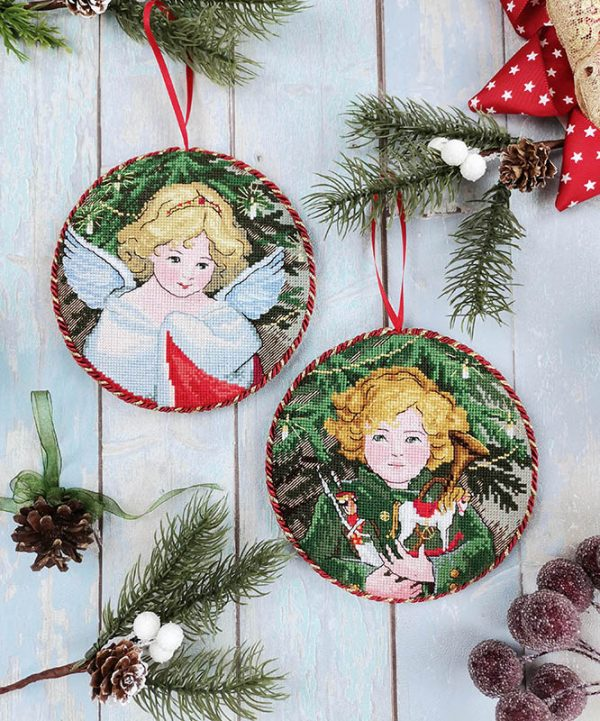 Купить набор для вышивания крестом Марья Искусница «Рождество» 21.002.18