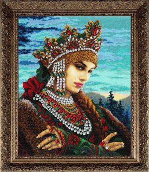 Купить набор для вышивания бисером Золотые ручки «Уральский сказ» ЛМ-032