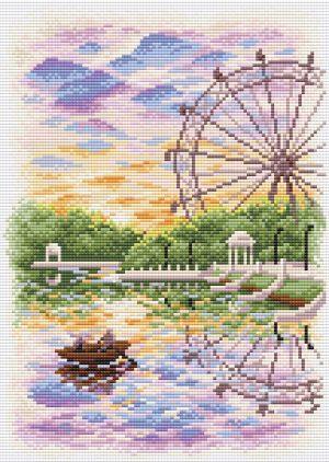 Купить алмазная мозаика BrilliArt «Летняя идиллия.Стразы» МС-096